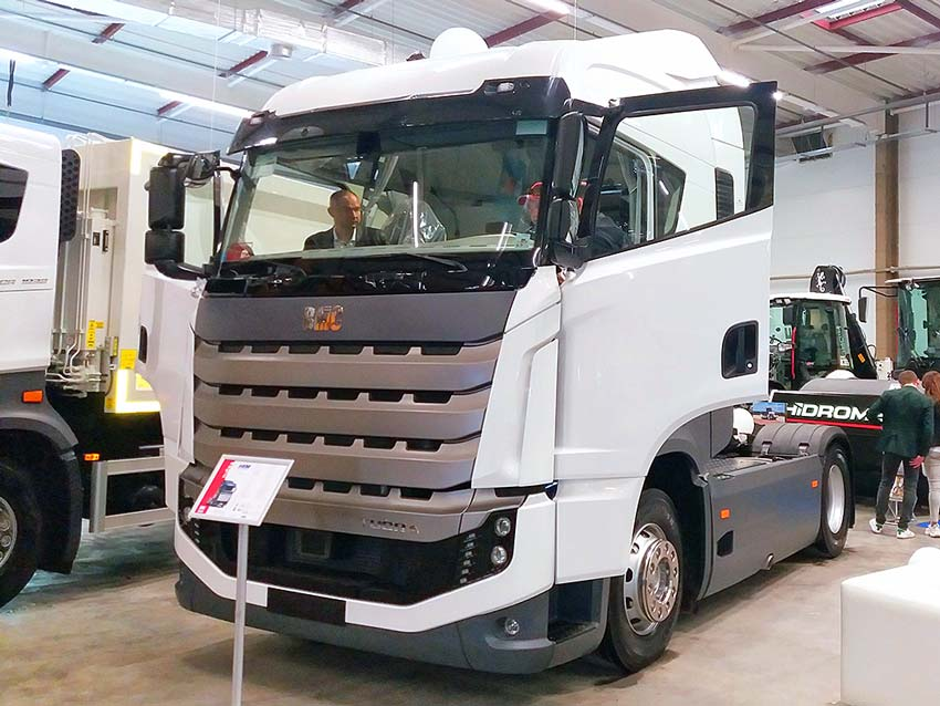 Вантажівки BMC Tugra