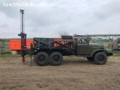 Буровая установка БГМ 1 на базе Зила 157 с конверсии