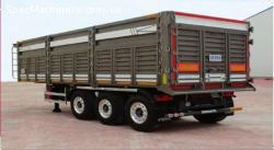 Полуприцеп для перевозки зерновых культур и насыпных грузов
