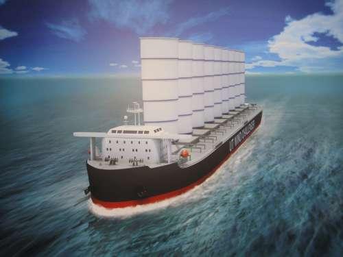 Tata Steel буде перевозити руду по океану на… вітрильних суднах