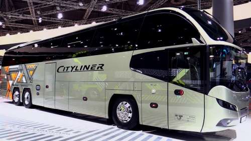 MAN випустив «платинову» версію автобуса Neoplan Cityliner