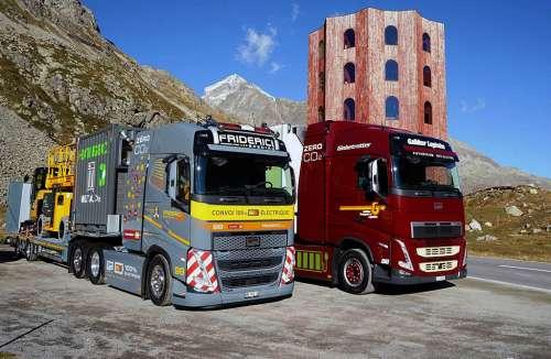 Швейцарці представили електричний тягач із найвищою в світі ємністю АКБ