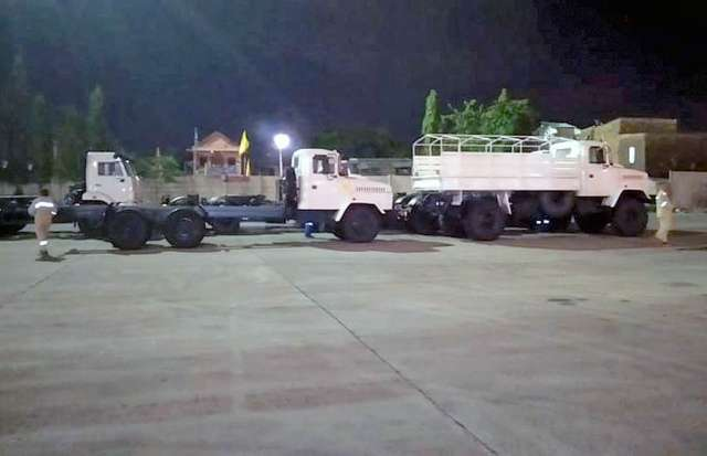 KrAZ technology has added the UN car fleet