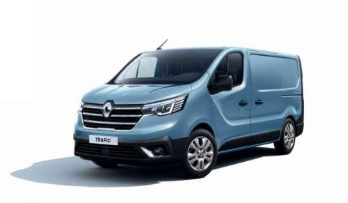 Renault виводить на ринок оновлений фургон Trafic