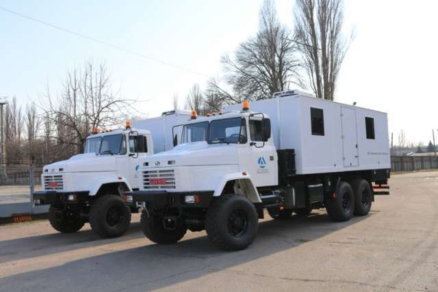 KrAZ Builds Special Vehicles to Fulfill an Order Placed by UN