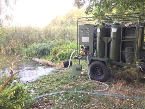 Для ЗСУ випробовують мобільну станцію очищення води