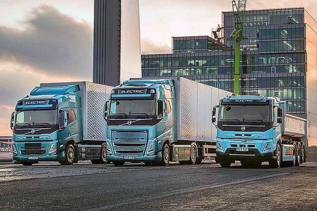 Volvo Trucks начинает продажи полностью электрических крупнотоннажных грузовиков
