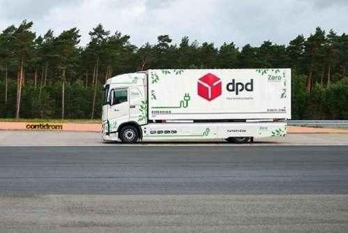 Електровантажівка Volvo FH здолала майже 1100 кілометрів на одній зарядці
