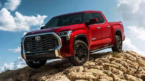 В США представили Toyota Tundra нового покоління