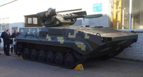 В Україні представили модернізовану версію БМП-1 із новим бойовим модулем